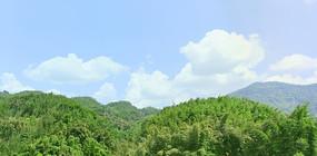 贵州赤水红石野谷群山竹海