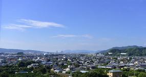 日本的乡镇风光