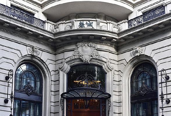 上海荣诚酒家的古典风格建筑