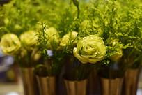 花卉装饰特写