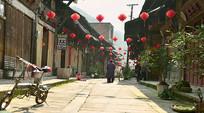 贵州赤水大同古镇老街石板路