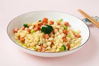 美味菜品炒玉米粒