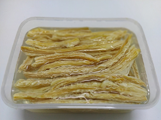 传统美食腐竹皮