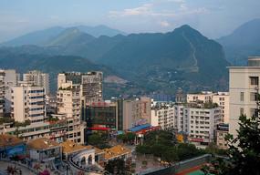 巫山县城风光