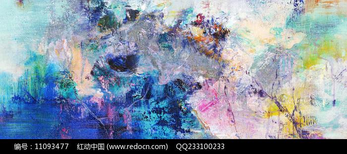 北欧抽象画  图片