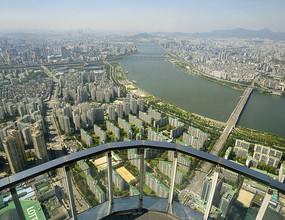 韩国乐天世界Seoul Sky瞭望台