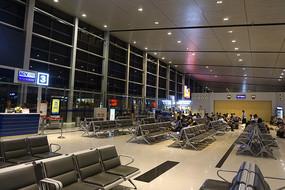 越南海防吉碑国际机场候机厅