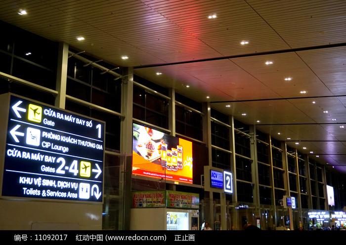越南海防吉碑国际机场内景图片