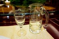玻璃分酒杯