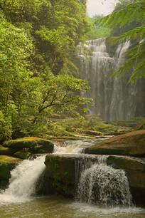 贵州赤水四洞沟景区-白龙潭瀑布