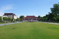 南京博物院园林风光