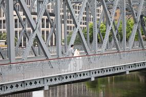 钢结构铁架桥