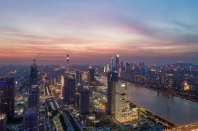 琶洲电商圈夜景