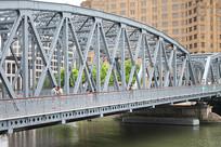上海外滩铁架桥