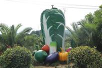 蔬菜景观造型