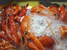 小龙虾火锅拍摄