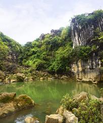 贵州天星桥山水自然风光