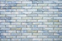 蓝色瓷砖背景墙