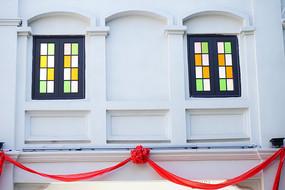 欧式色彩窗户