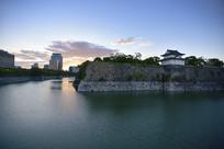 日本大阪城公园风光