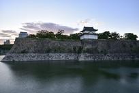 日本大阪城公园风景