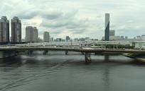 日本东京城市风光