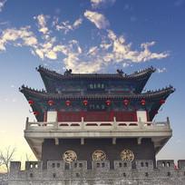 山东潍坊的奎文门古楼