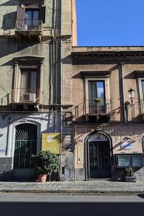 意大利卡塔尼亚街头民居