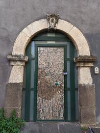 意大利卡塔尼亚老宅大门