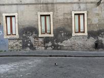 意大利卡塔尼亚老宅子