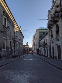 意大利卡塔尼亚石板路