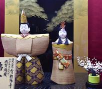 日本和服布偶