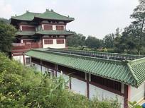 新会圭峰山寺院建筑佛笑楼