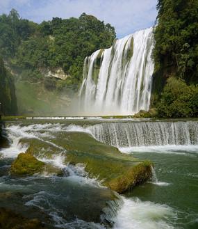 安顺黄果树瀑布自然风景接图