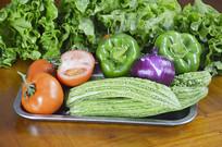 瓜果蔬菜背景