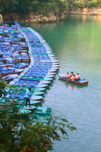 贵州荔波小七孔-鸳鸯湖游船码头