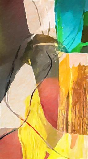 原创抽象油画