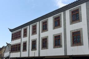 云南建水古城古街传统民居建筑