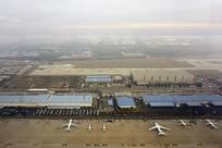 北京首都国际机场航空港航拍