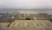 航拍北京首都国际机场航空港