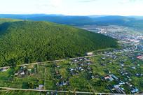 大兴安岭林区森林小镇