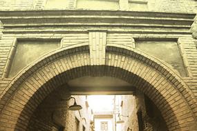 老照片石库门经典建筑
