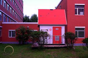 红色的小屋