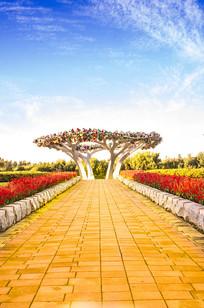 智慧之树景观