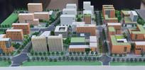 成都科学城规划展示-规划模型