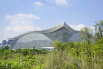 桂溪公园俯拍环球中心