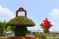 青岛五四广场雕塑-五月的风