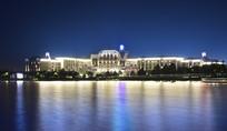 上海迪士尼乐园酒店夜景