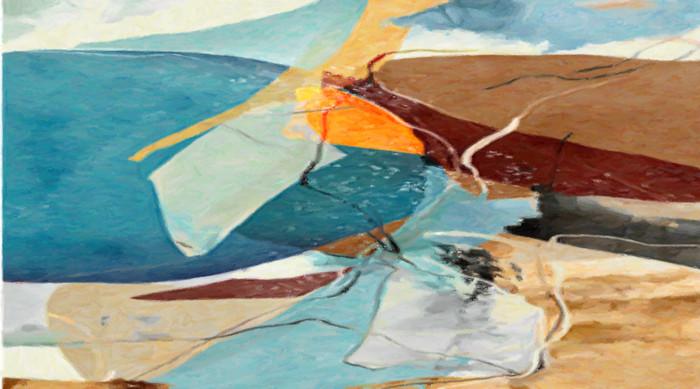 现代风格抽象油画
