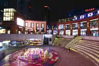 上海九六广场夜景